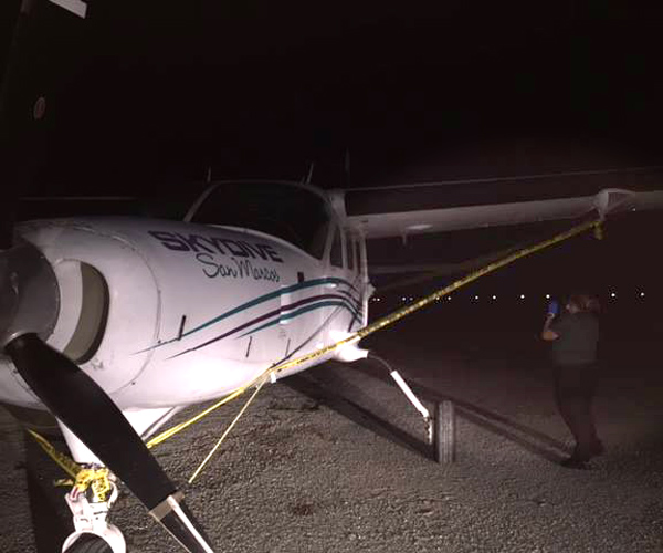 Crime scene technician takes photos after plane landed. (Facebook/Marion County Sheriff's Office) By Clyde Hughes | Breaking News at Newsmax.com http://www.newsmax.com/TheWire/parachutist-dies-fall-florida/2016/10/17/id/753732/#ixzz4NLdSmhoh Urgent: Do You Back Trump or Hillary? Vote Here Now!