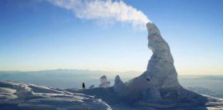 ice fumaroles