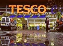 tesco installs cctvs self checkout system