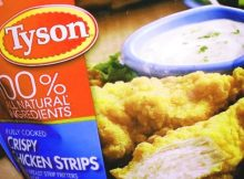 tyson foods recalls chicken product