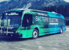 daimler tao round electric bus company proterra