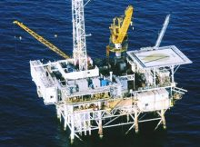 first offshore oil facility alaska coast